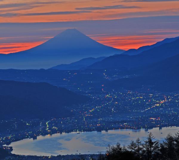 富士夜明けのファンタジー