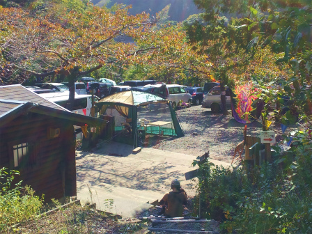 小岐須渓谷駐車場