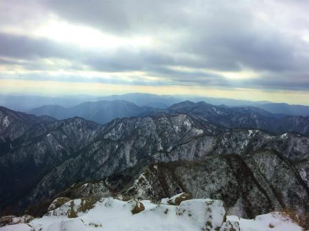 s20111218 鎌ケ岳頂上展望