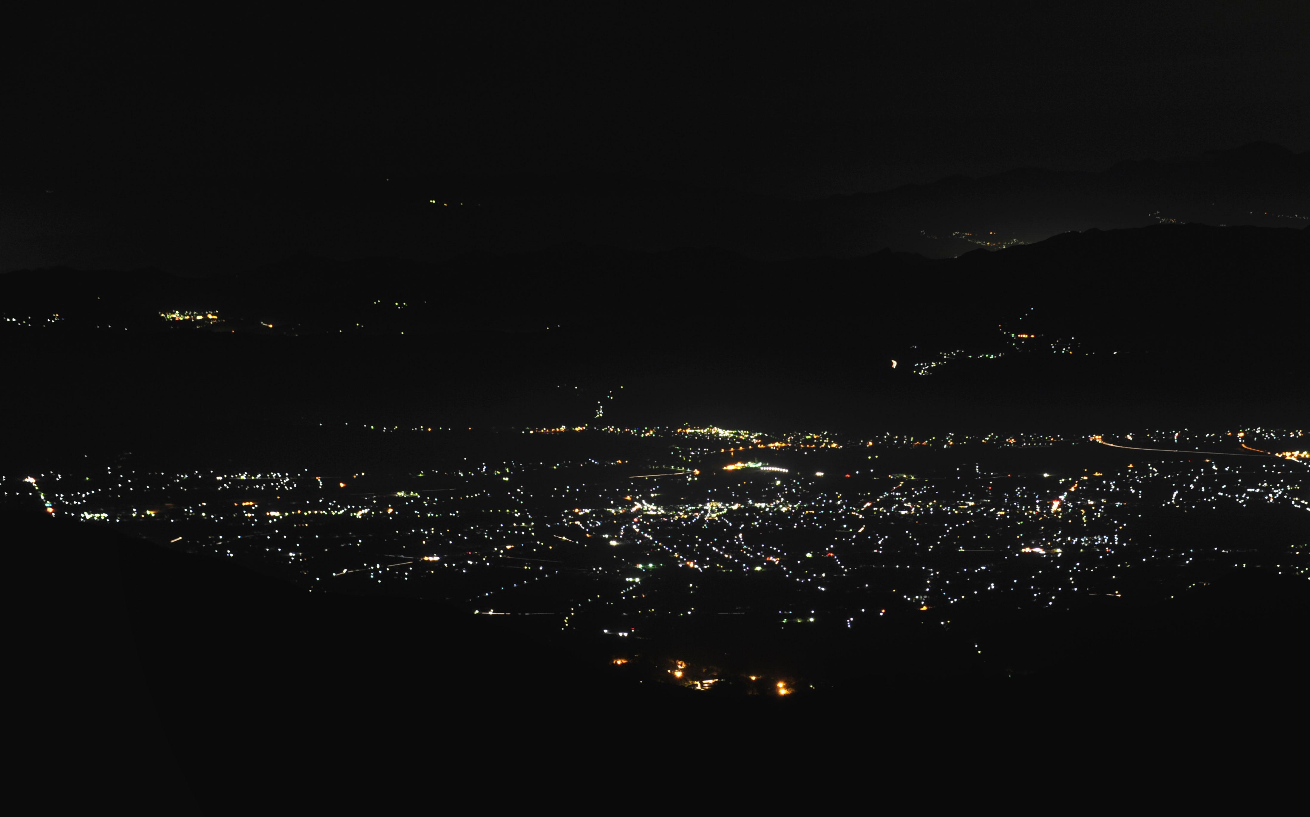 安曇野夜景