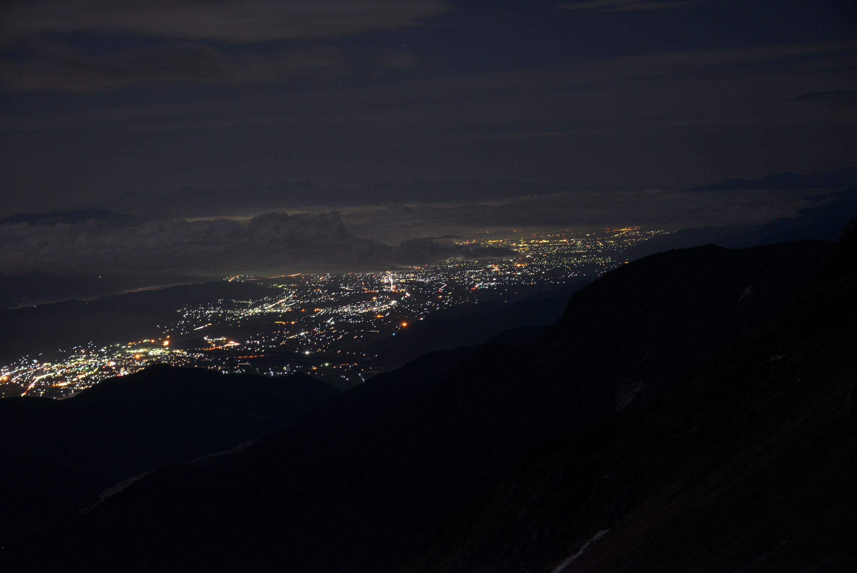 大町松本夜景