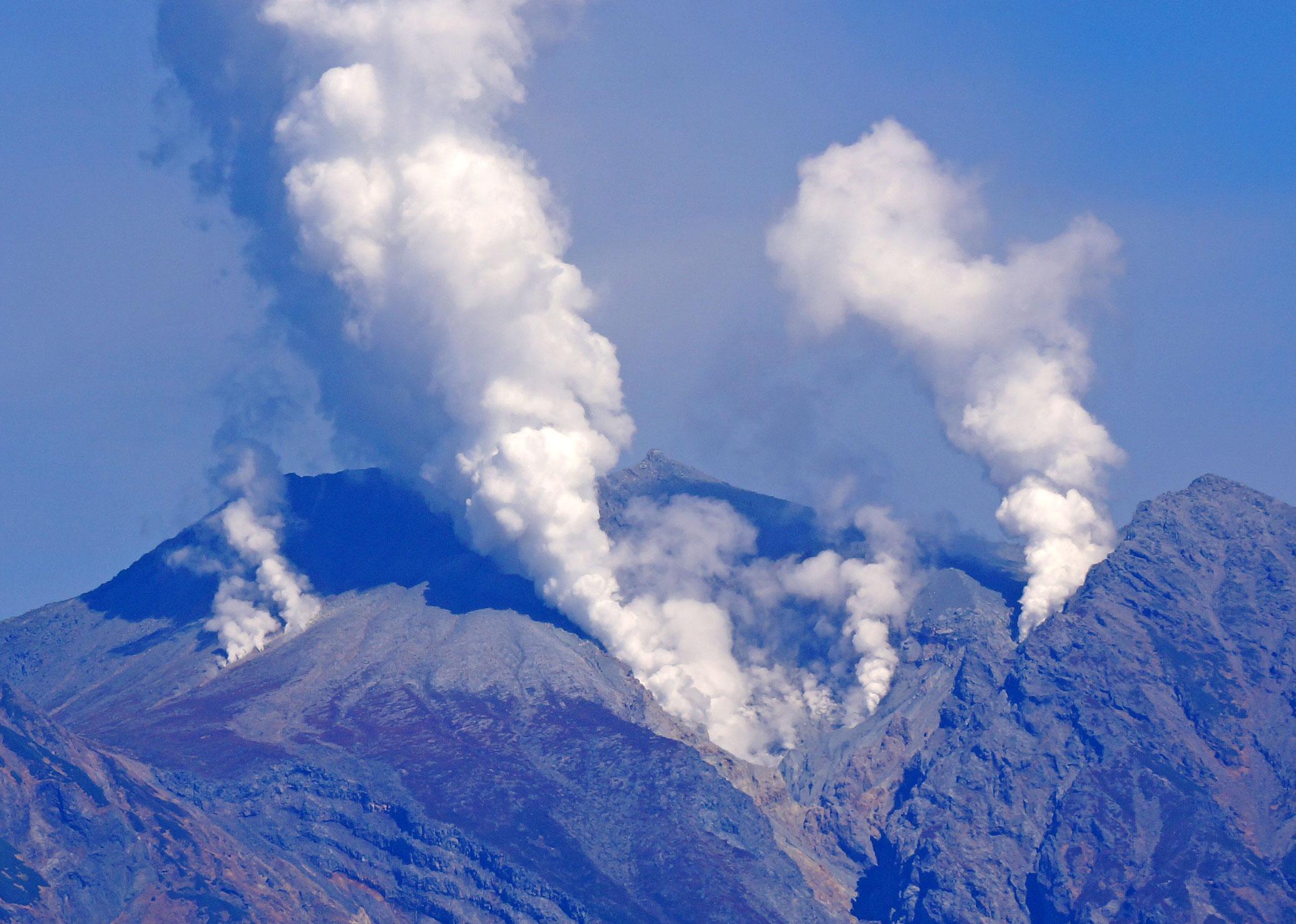 御嶽噴火2