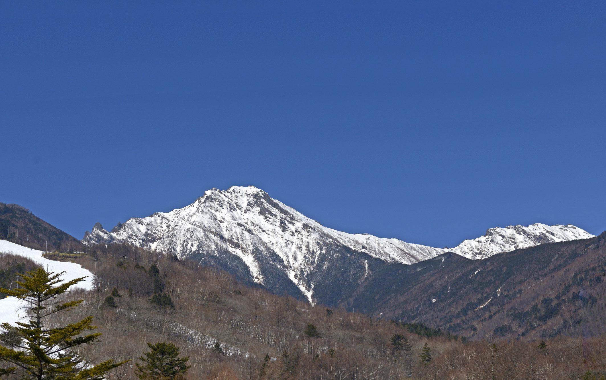 赤岳、横岳
